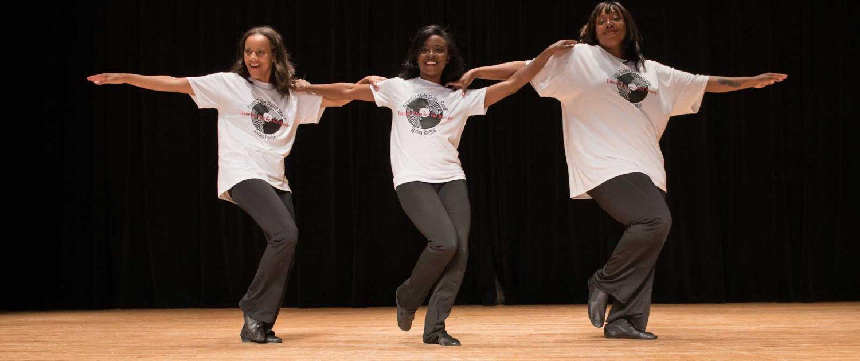 Graceful Soles Dance Studio - teachers do the line dance!