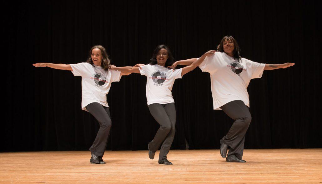 line dance at graceful soles dance studio